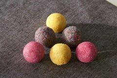 Треугольник конфеты шарика сахара Стоковое Изображение RF