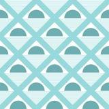 Треугольник сформировал предпосылку картины точек польки безшовную - вектор Стоковые Изображения RF