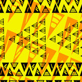 Треугольник eps10 абстрактного цвета геометрический Стоковое Фото