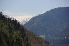 Трехуровневые горы Стоковое Изображение RF