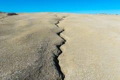 Трещиноватость земли Стоковая Фотография