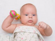 трещотка младенца Стоковые Фотографии RF
