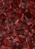 Триангулярное 3d, современная предпосылка Стоковая Фотография RF