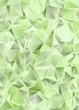 Триангулярное 3d, современная предпосылка Стоковое Изображение