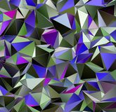 Триангулярное 3d, современная предпосылка Стоковые Изображения RF
