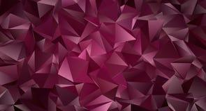 Триангулярное 3d, современная предпосылка Стоковая Фотография