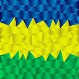 Триангулярная предпосылка Бразилии Стоковая Фотография RF