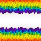 Триангулярная прокладка предпосылки Стоковое фото RF