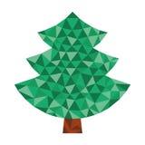 Триангулярное дерево Стоковое Изображение RF