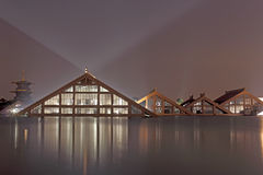 Триангулярный дом Стоковые Фото