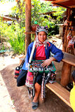 триба mai холма chiang Стоковые Фото