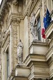 Трибунал de Коммерция de Париж, Франция стоковые изображения rf