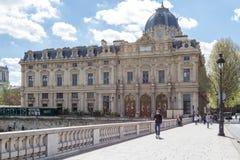 Трибунал de Коммерция, Париж стоковое фото rf