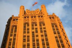 трибуна башни chicago стоковое изображение