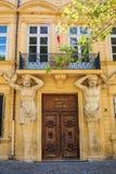 Трибунал de Коммерция в AIX-en-Провансали, Франции Стоковое Изображение