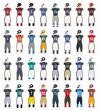 Трикотажные изделия цвета американского футбола родовые Стоковая Фотография