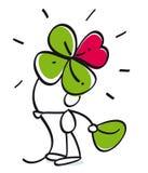 трилистник 4 листьев Стоковые Фото