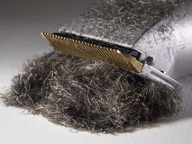триммер электрических волос детали бороды самомоднейший Стоковое Изображение