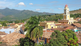 Тринидад в Кубе Стоковые Изображения RF