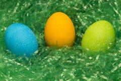 трио пасхального яйца Стоковое Изображение