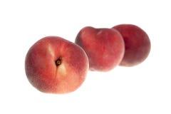 Трио персика Стоковая Фотография RF