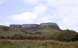 Трио плоских гор стоковая фотография