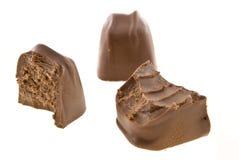 Трио шоколада Стоковые Изображения