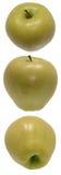 трио яблока стоковое изображение