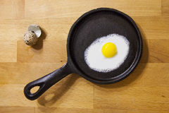 триперстки зажаренные яичком Стоковые Фото
