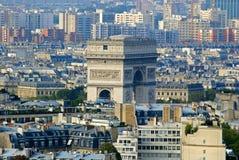 Триумфальная Арка. Стоковая Фотография