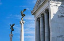 Триумфальные столбцы алтара отечества Стоковые Фото