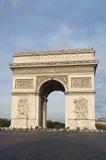 Триумфальный свод в Париже Стоковые Фото