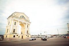 Триумфальный свод Москвы, Иркутска Стоковая Фотография RF