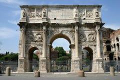 триумф rome свода Стоковая Фотография