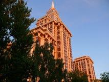 триумф skycraper площади moscow Стоковые Фото