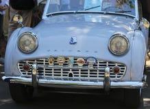 Триумф TR3 снятый на винтажной выставке автомобиля в Санта-Фе Стоковые Фотографии RF