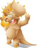 Трицератопс динозавра  Стоковые Фотографии RF
