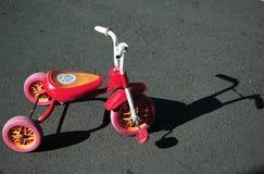 трицикл детей Стоковое фото RF
