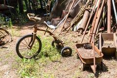 Трицикл и фура стоковые фотографии rf