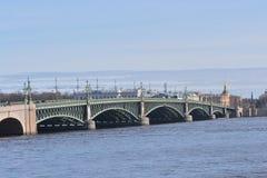 троица моста Стоковые Изображения