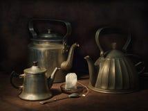 троица чая Стоковая Фотография
