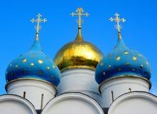 Троица Lavra St Sergius Стоковые Изображения