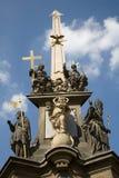троица prague барочной колонки святейшая Стоковое фото RF