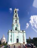 троица sergius sergiev posad lavra федерирования архитектурного ансамбля русская стоковое изображение rf