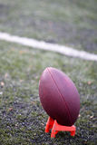 тройник американского футбола Стоковые Фотографии RF