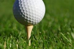тройник гольфа шарика Стоковая Фотография