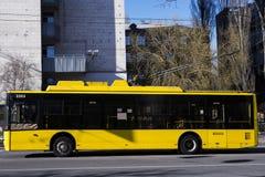 Троллейбус города стоковое фото