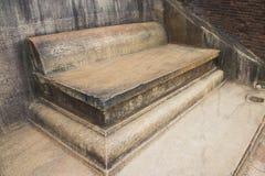 трон камня sri sigiriya lanka королевский Стоковые Фотографии RF