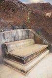 трон камня sri sigiriya lanka королевский Стоковые Изображения RF