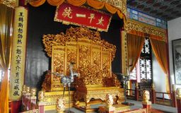 трон Стоковое Изображение